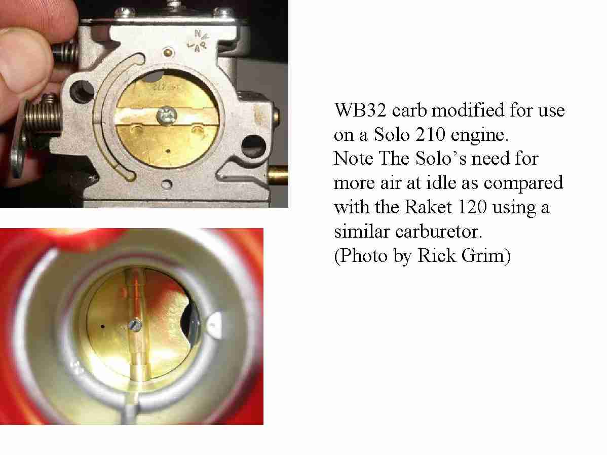 Walbro Carb Modification for Smooth and Slow Idle on